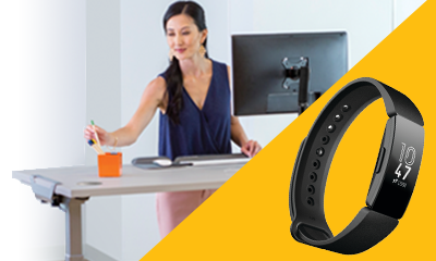 Fellowes Levado - Free fitbit inspire